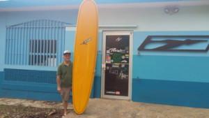 NESTOR RAMIREZ SHAPER DE PELICANO SURFBOARD ( con más de 41
