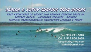 CARLOS & KATHY SURFING TOURS